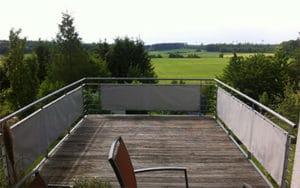 Balkonbespannung - Sichtschutz für Balkon