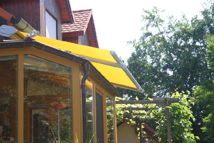 Reflexa Wintergartenmarkise SmallFlex gelb