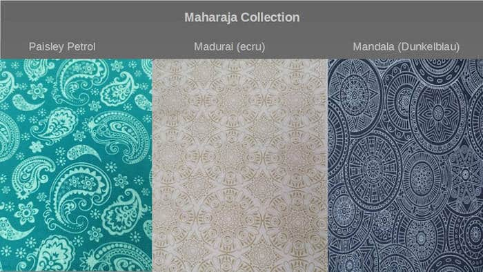 SoleilLounger Maharaja Collection Farbauswahl