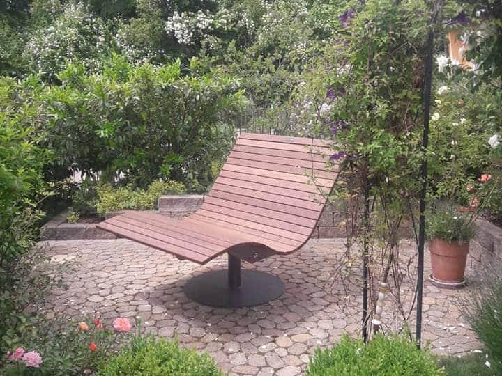 SoleilLounger Gartenliege im Garten