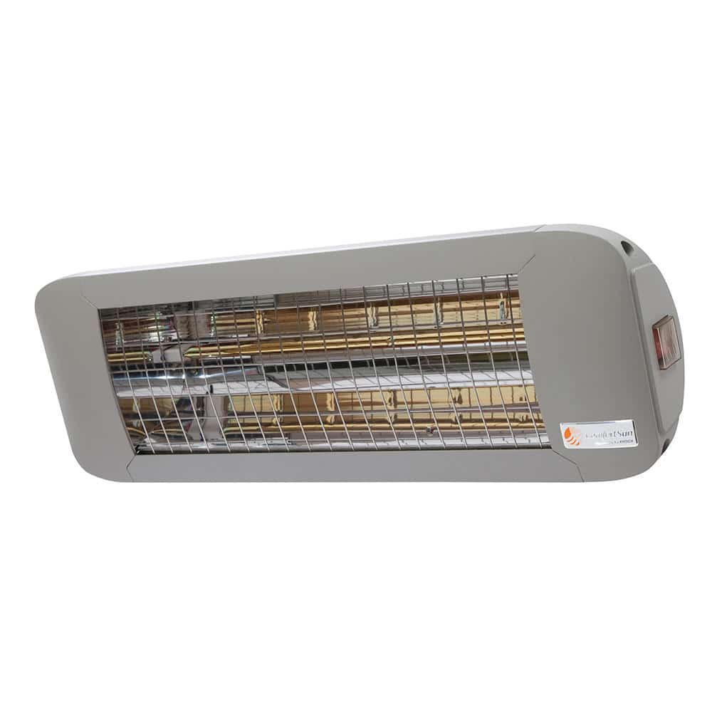 Terrassenheizstrahler 2000 Watt mit weißem Licht